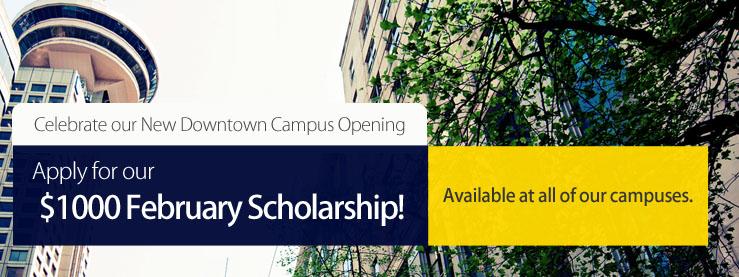February Scholarships