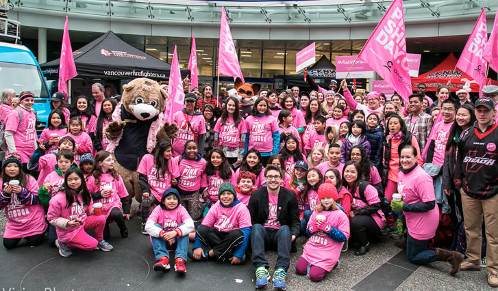 Pink Shirt Day Vancouver