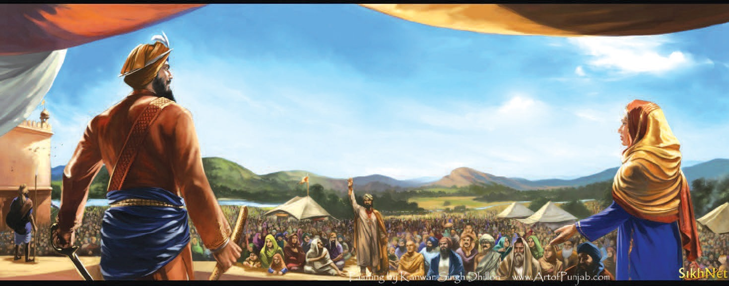 The Birth of Khalsa