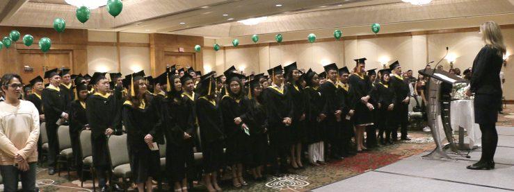 2017 Graduates of Brighton College
